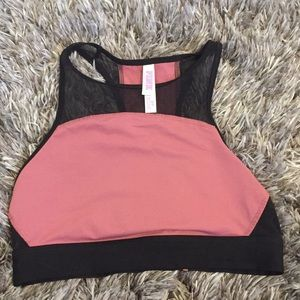 PINK High Neck Sports Bra